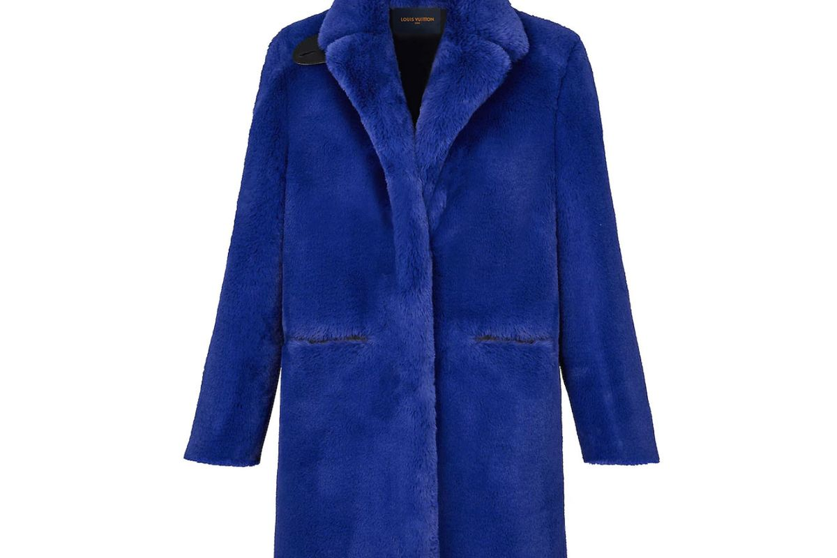 louis vuitton straight coat