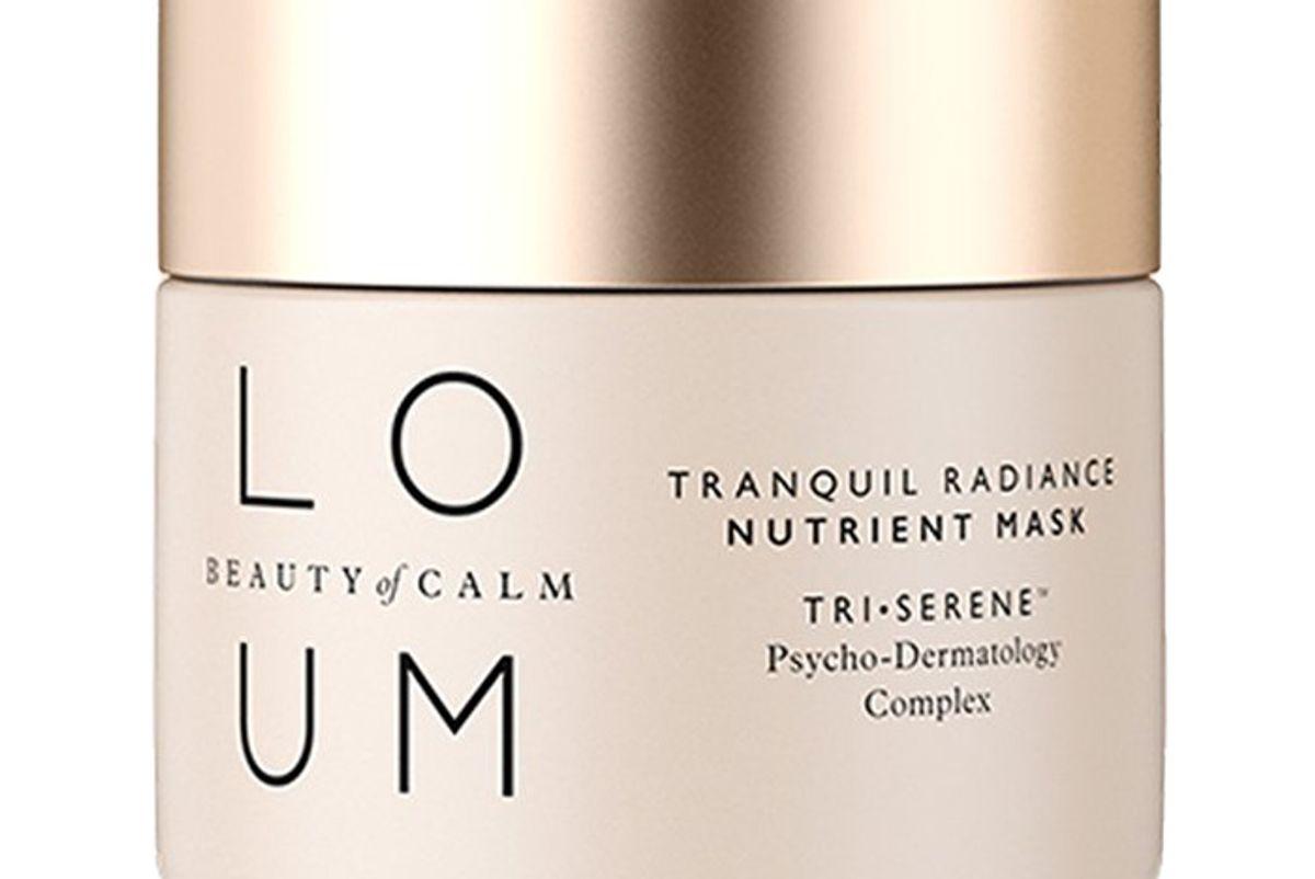 loum beauty tranquil radiance nutrient mask