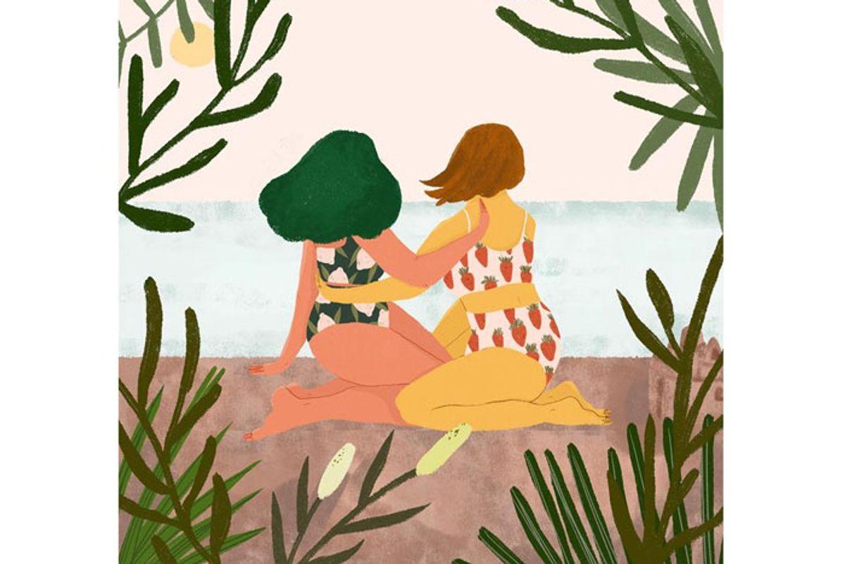 love is wise sandcastles art print