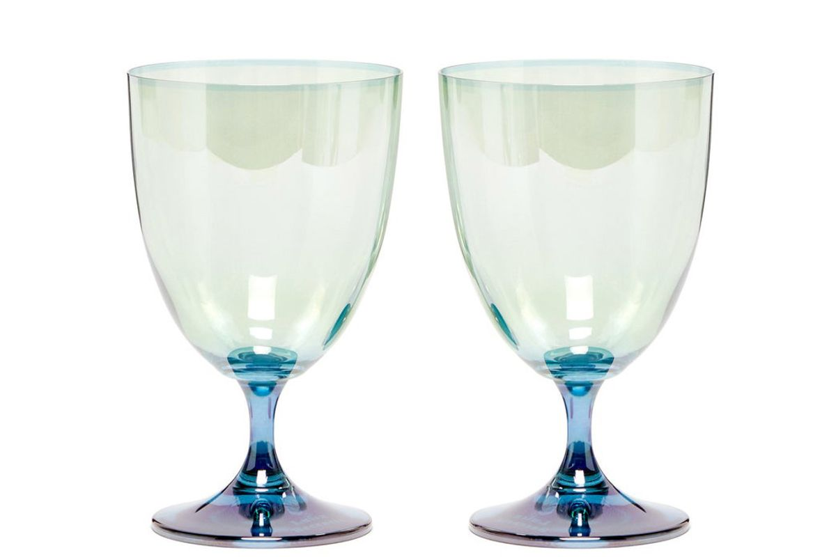 luisa beccaria set of two gradient glasses