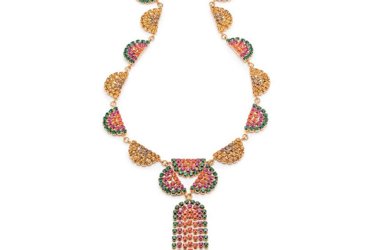 lulu frost synth bib necklace