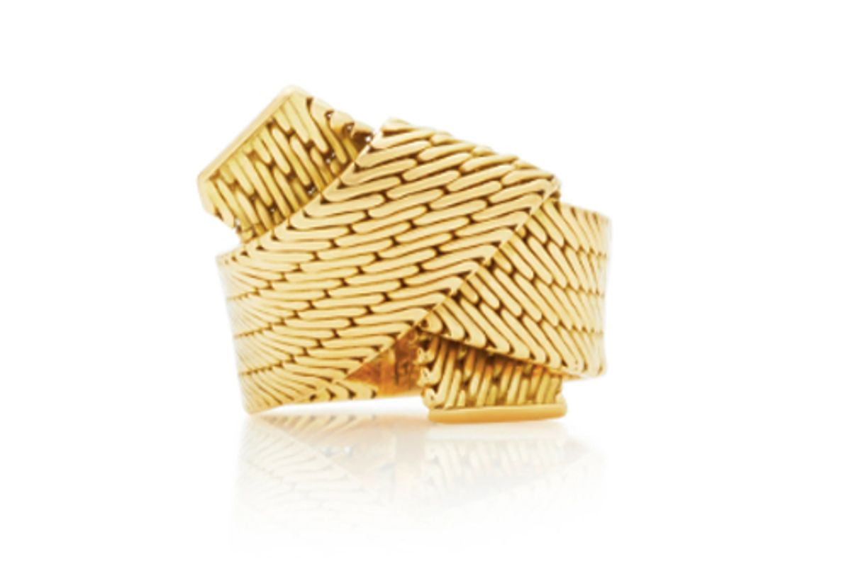 mahnaz collection 18k gold ring