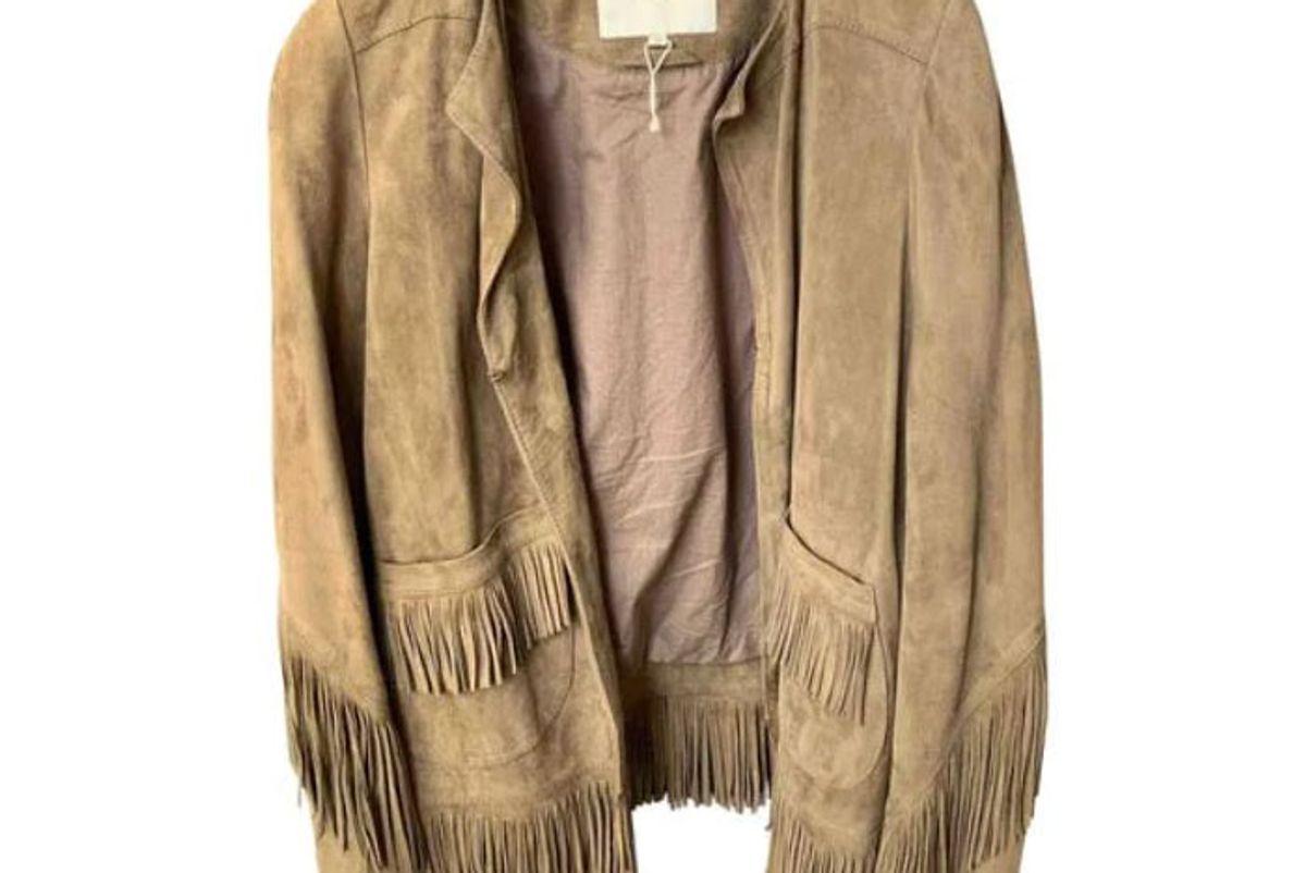maje suede jacket