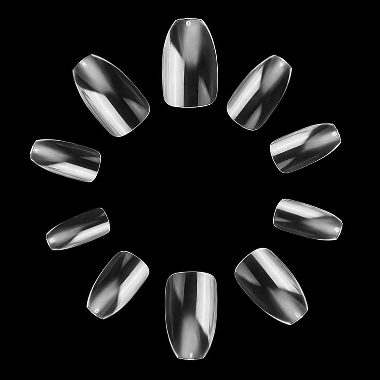 makartt coffin nails short 500pcs press on nails