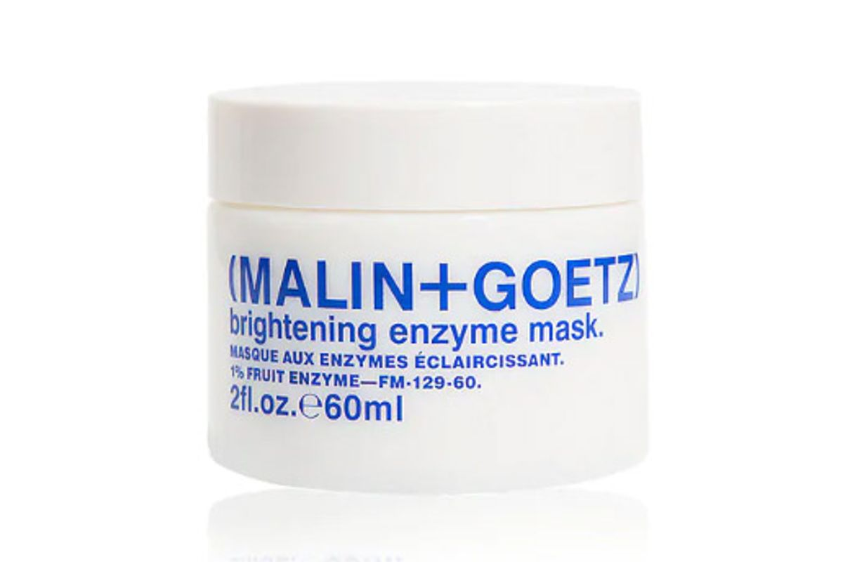 malin and goetz brightening enzyme mask