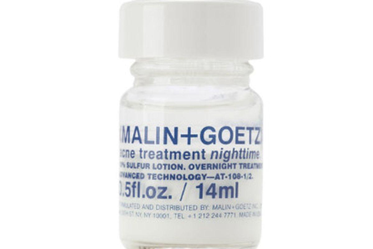 malin goetz acne treatment nighttime
