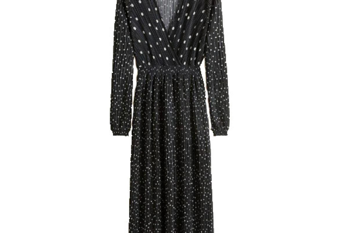 mango polka dot dress