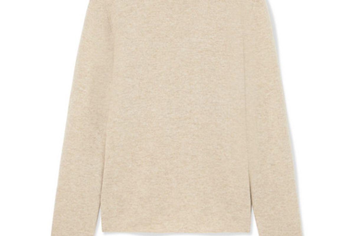 mansur gavriel melange cashmere sweater