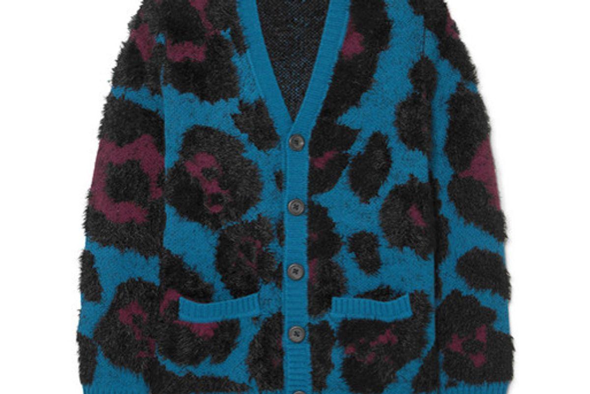 marc jacobs jacquard knit cardigan