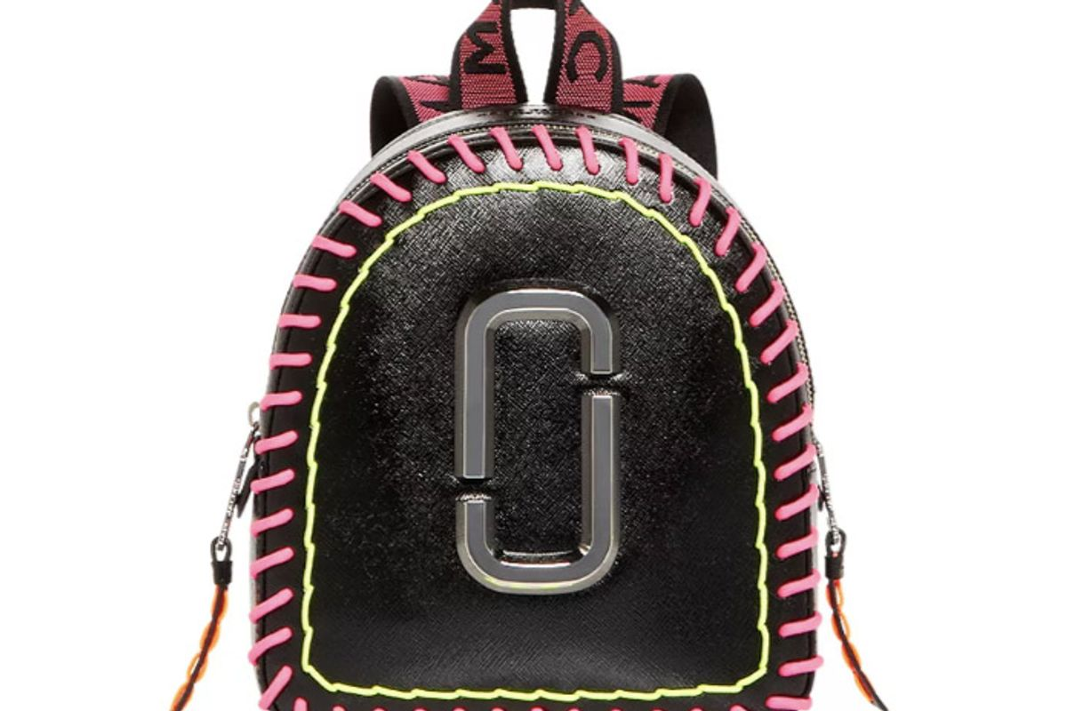 marc jacobs pack shot whipstitches backpack