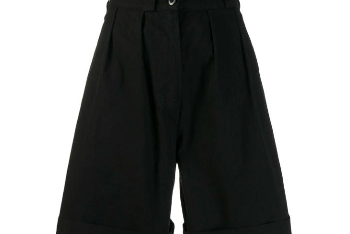 margaret howell high waisted shorts