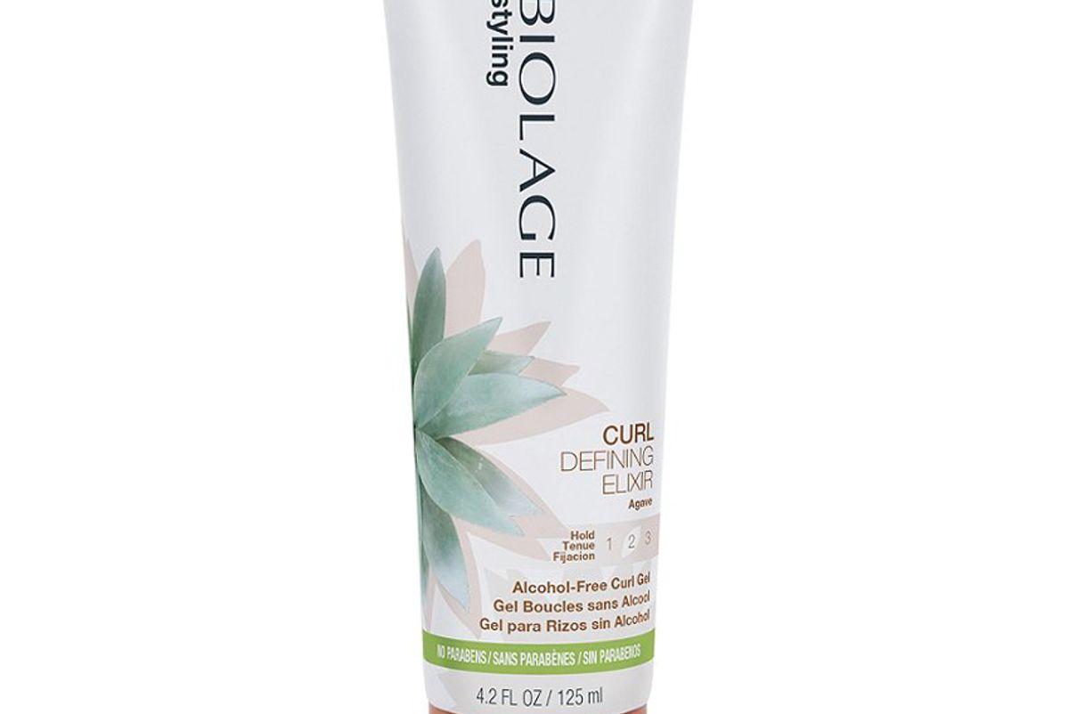matrix biolage styling curl defining elixir
