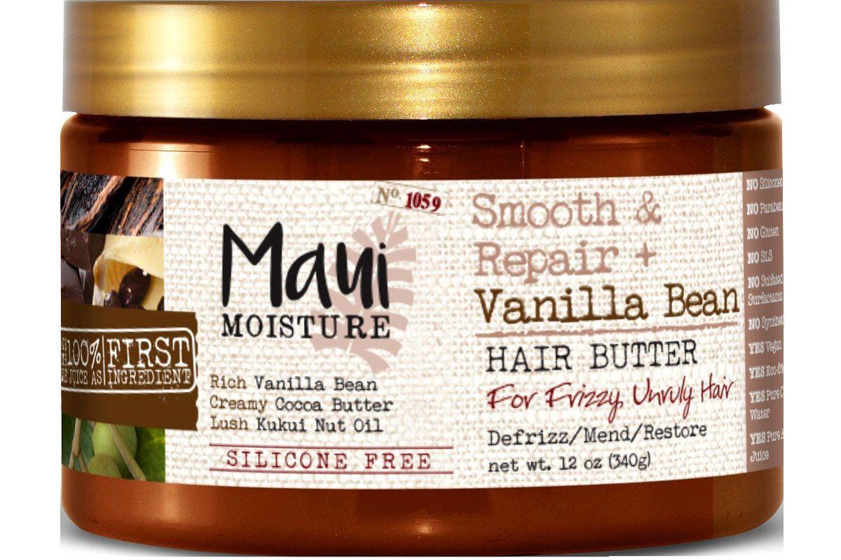 maui moisture smooth and repair vanilla bean hair butter