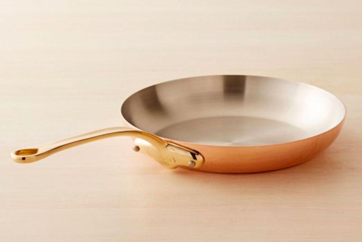 Copper Triply Fry Pan