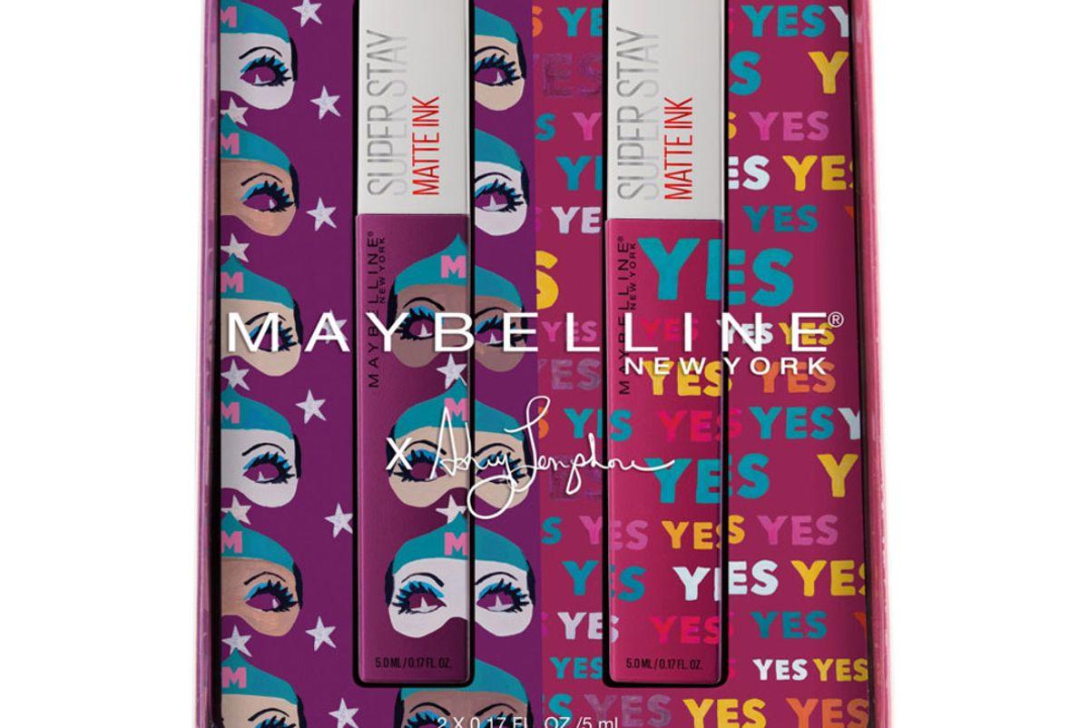maybelline online only x ashley longshore dreamer plus believer superstay matte ink liquid lipstick kit