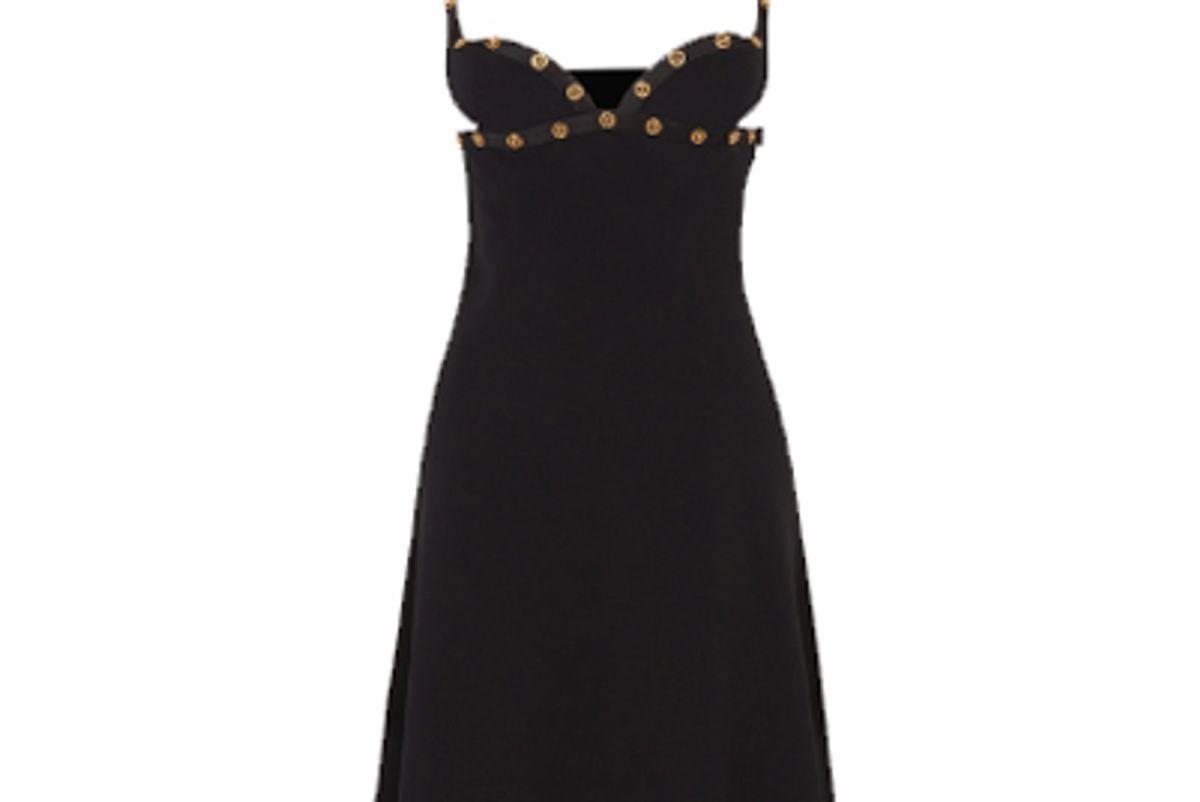 medusa top stitch mini dress