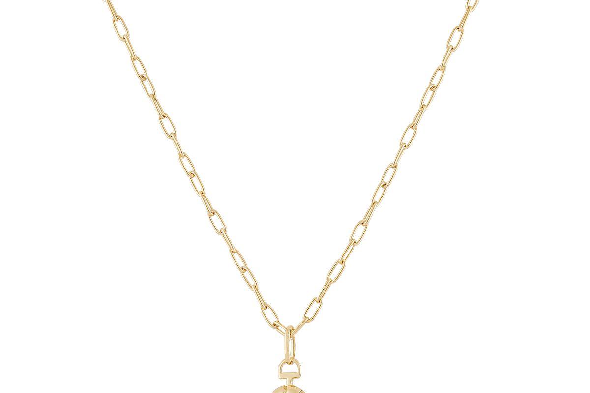 mejuri locket necklace