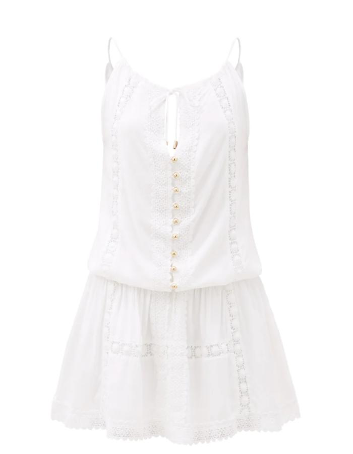 melissa odabash chelsea broderie anglaise mini dress