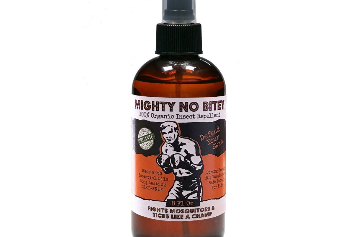 mighty no bitey 100 percent organic insect repellant