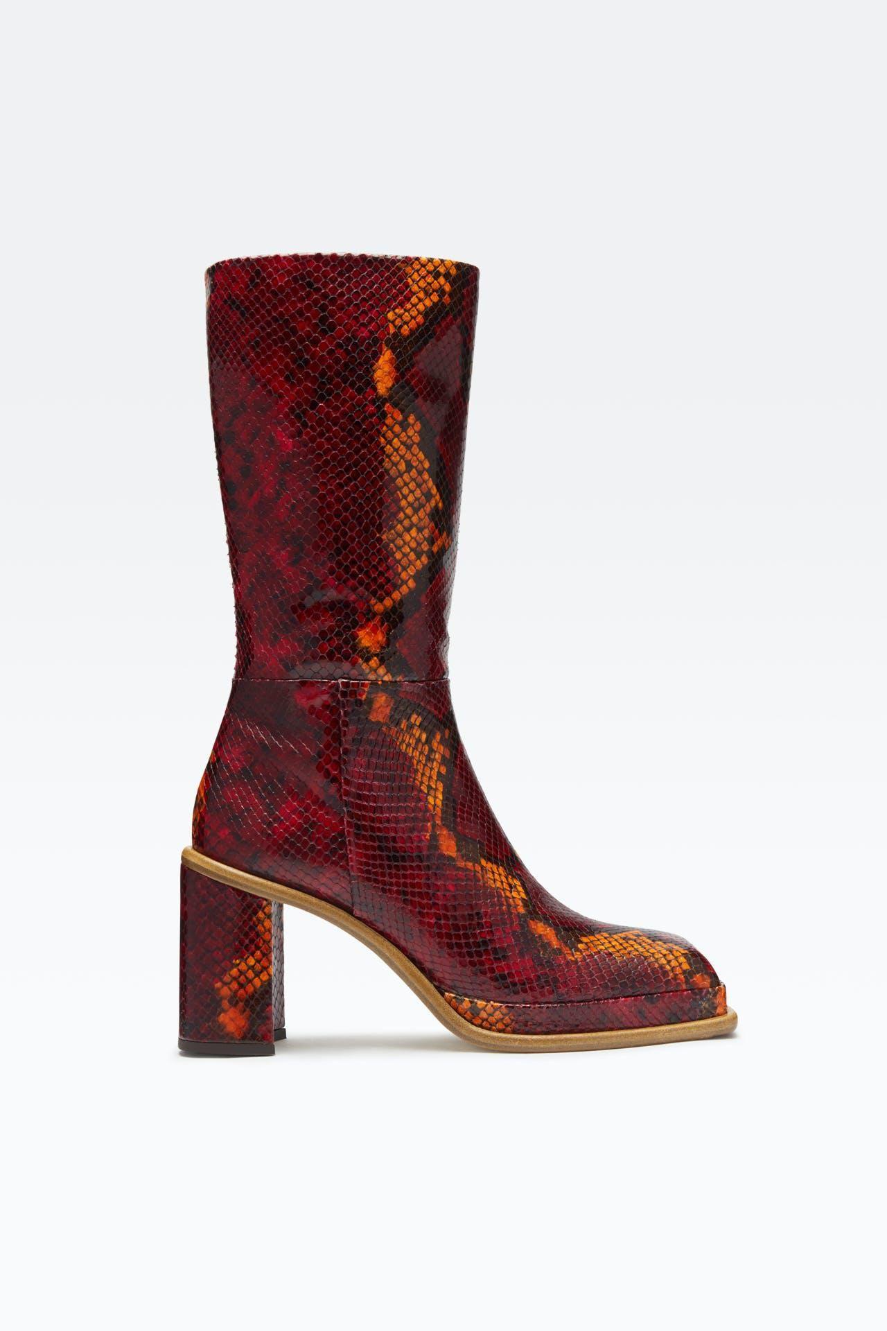 miista abril red boots