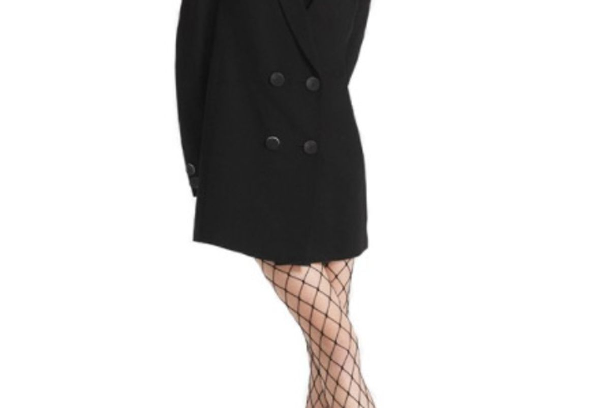 Florence Blazer Dress in Black