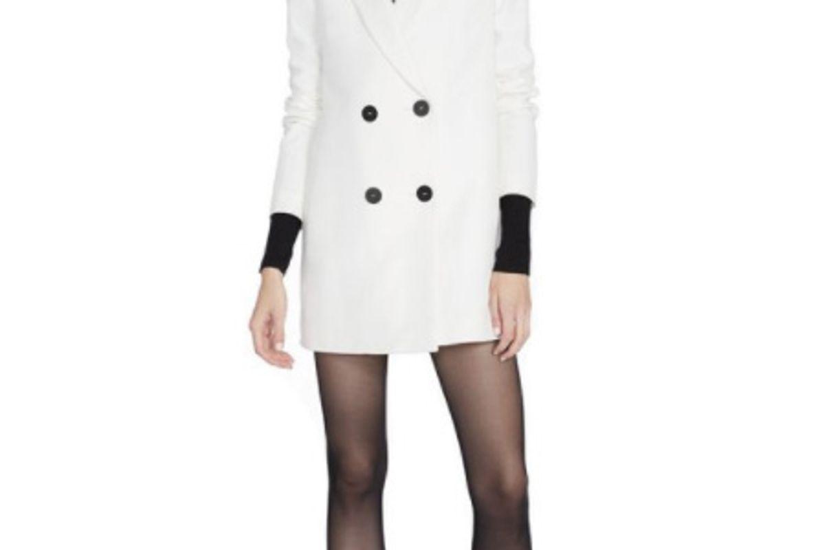 Florence Blazer Dress in White