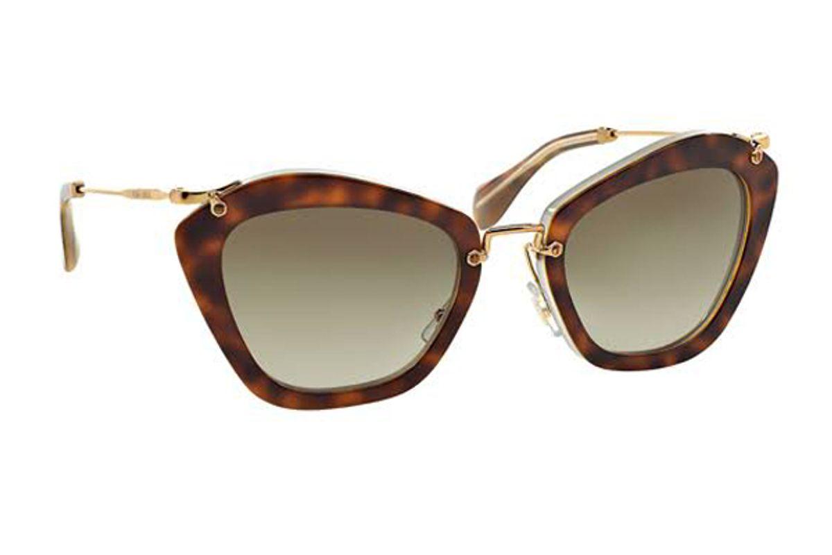 Women's Noir Catwalk Cat Eye Sunglasses