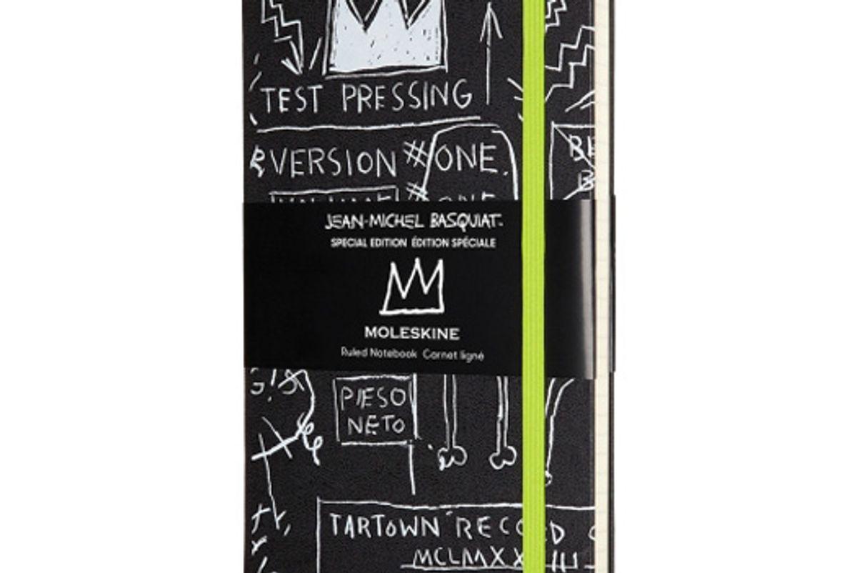 moleskine jean michel basquiat special edition notebook black