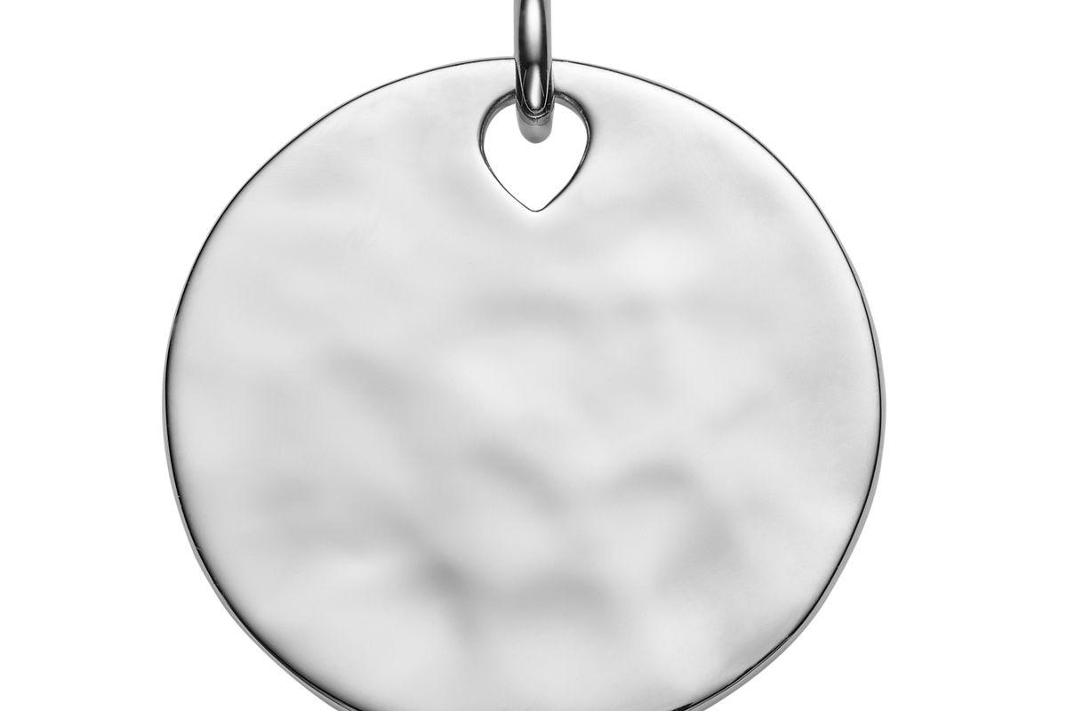 monica vinader havana pendant silver
