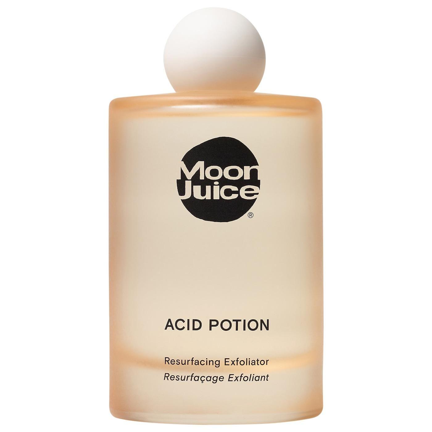 moon juice acid potion aha and bha resurfacing exfoliator
