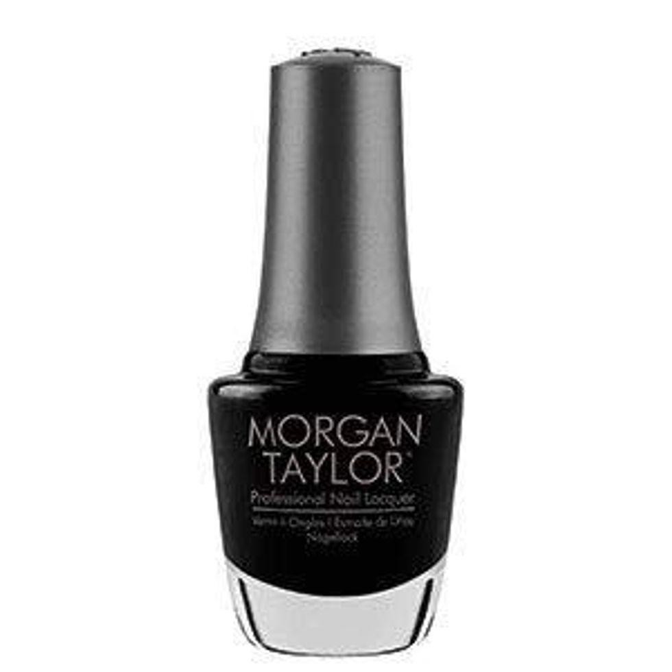 morgan taylor nail polish black shadow