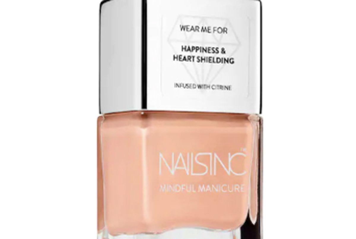 nails inc the mindful manicure future s bright nail polish
