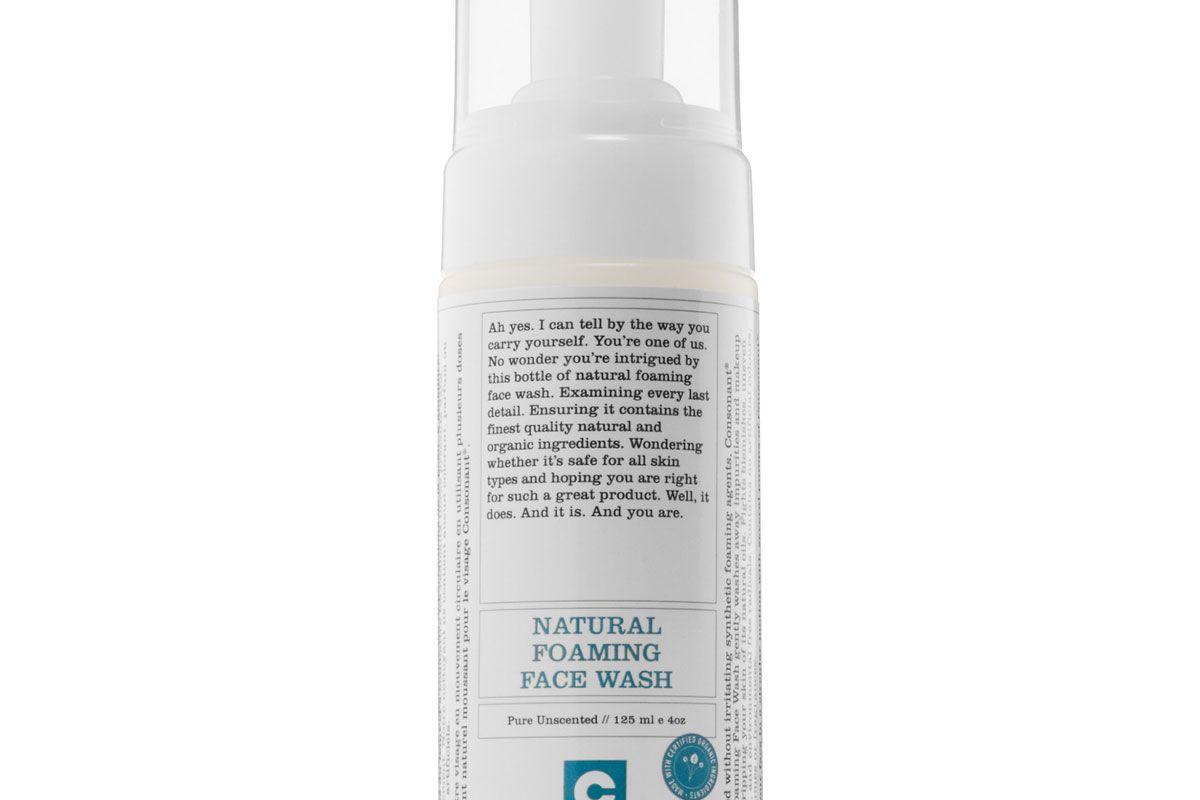 Natural Foaming Face Wash