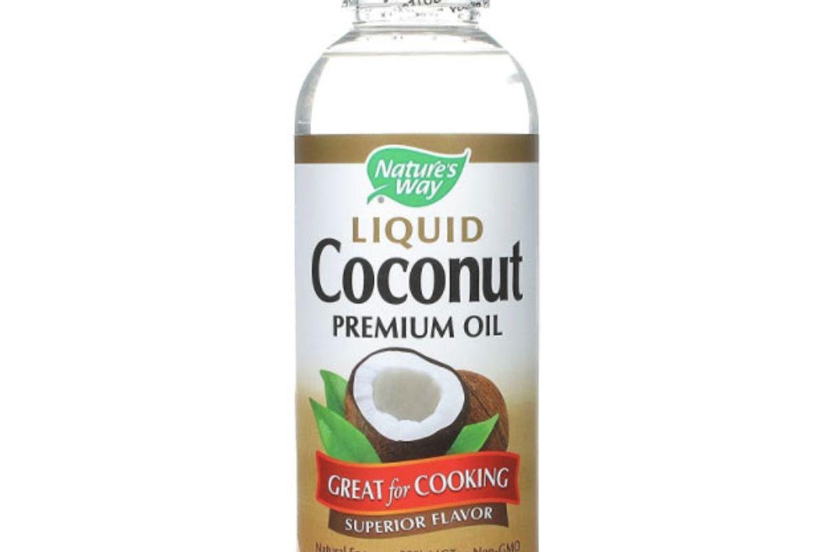 nature's way premium coconut oil