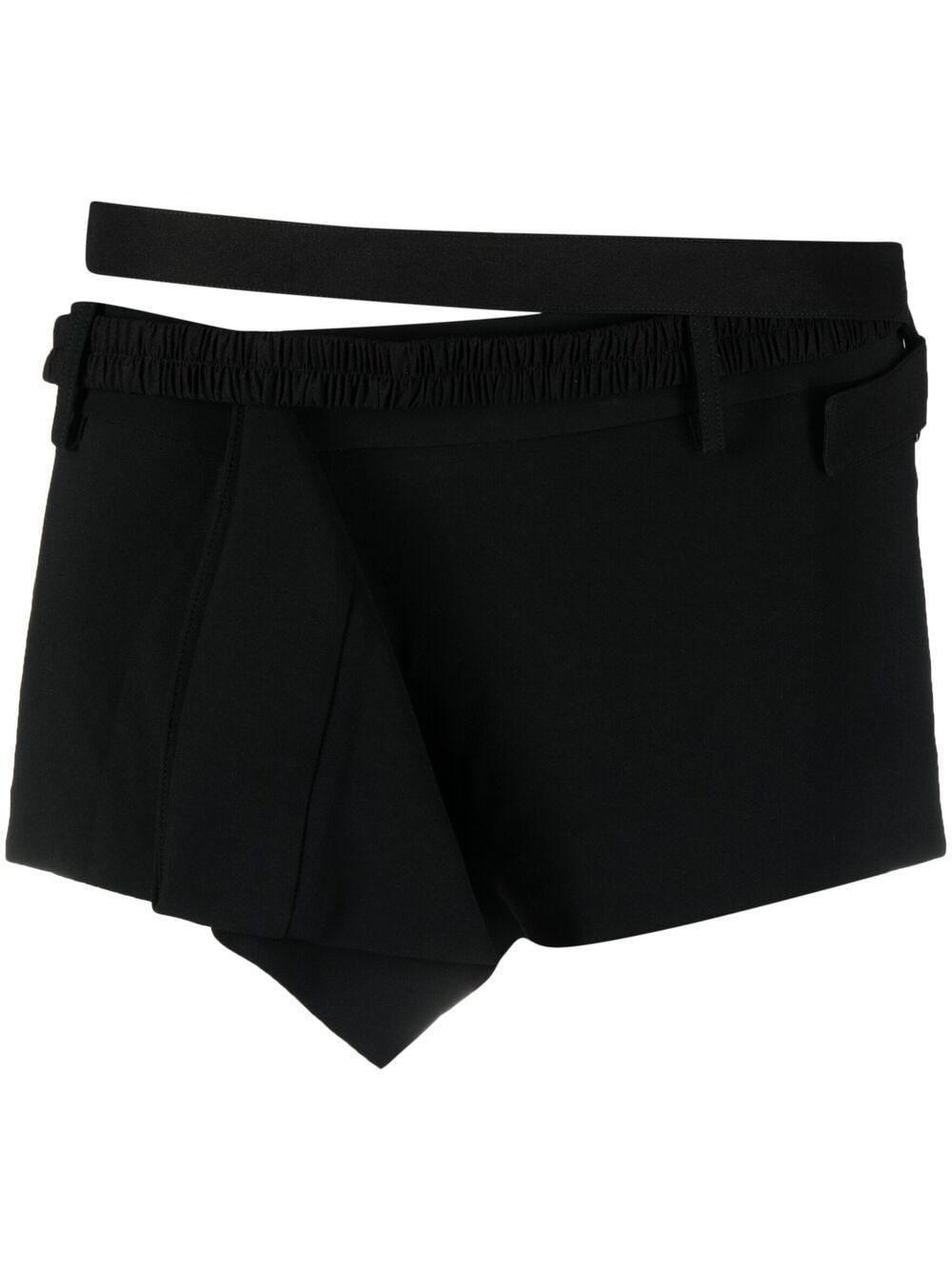 nensi dojaka deconstructed mini shorts
