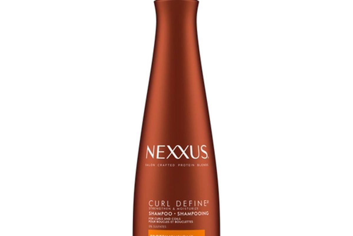nexxus sulfate free curl define shampoo