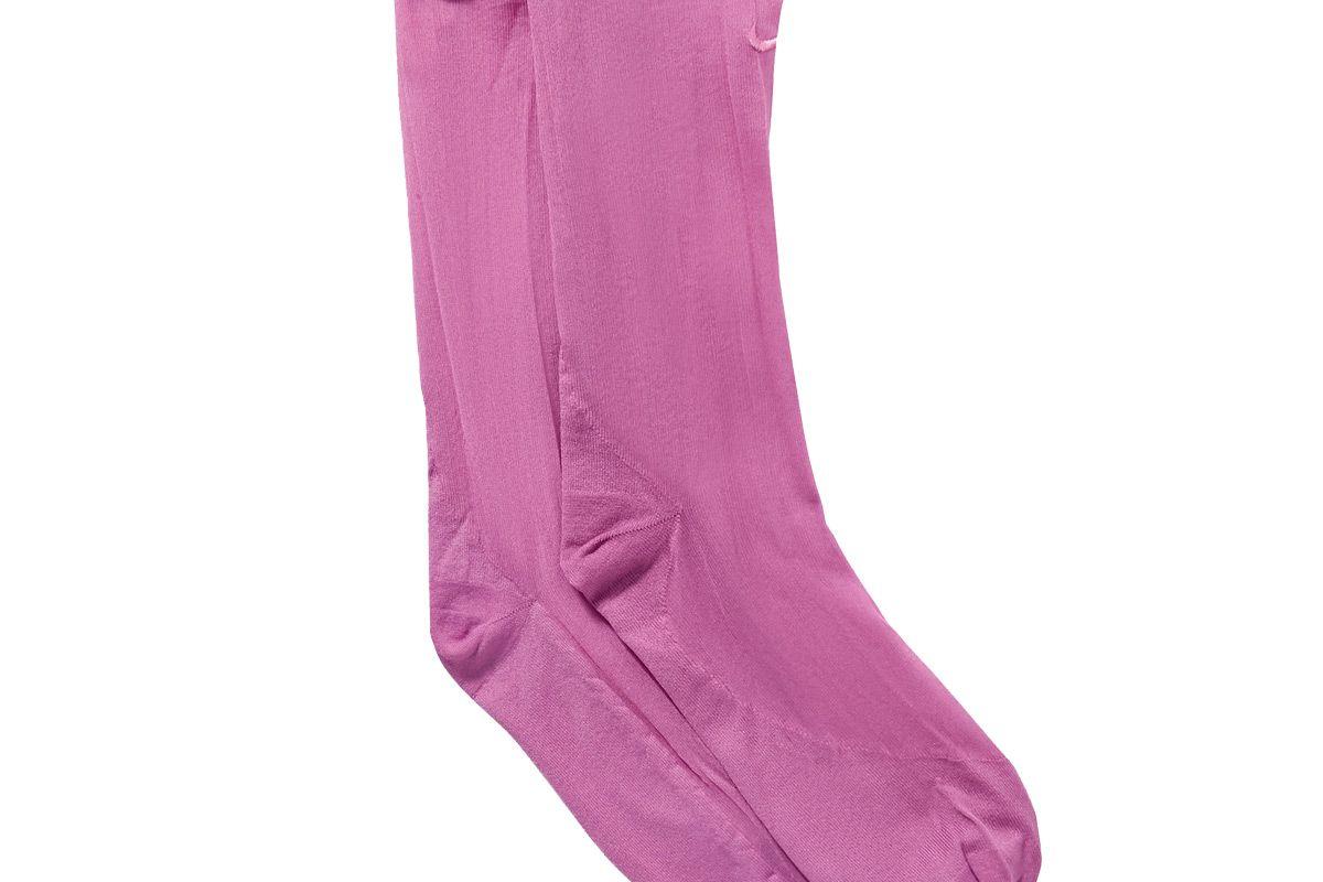 nike ruffled embroidered dri fit tulle socks
