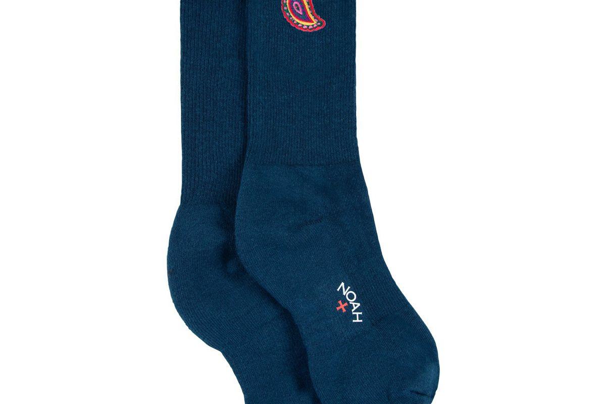 noah paisley sock