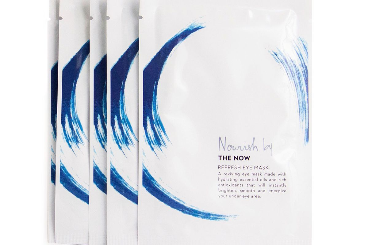 the now nourish by the now refresh eye mask