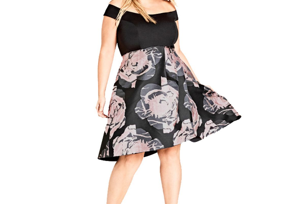 Jacquard Flirt Dress