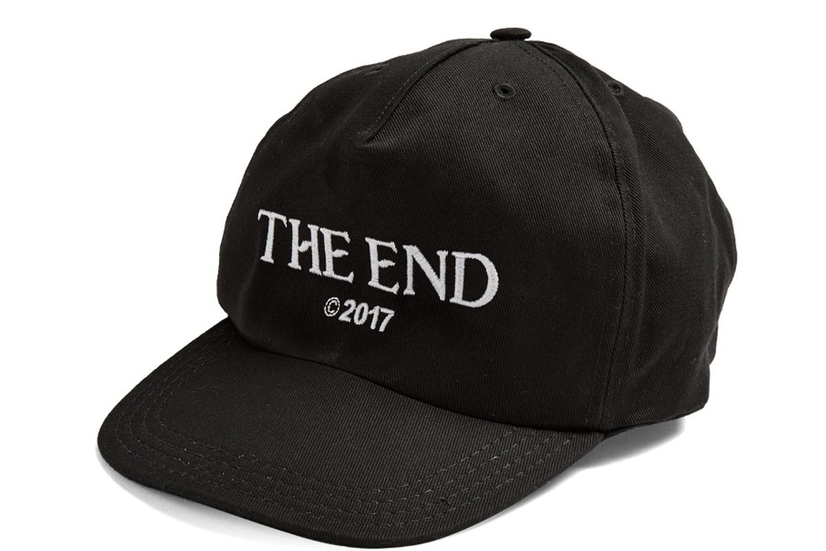 The End Embroidered Cap
