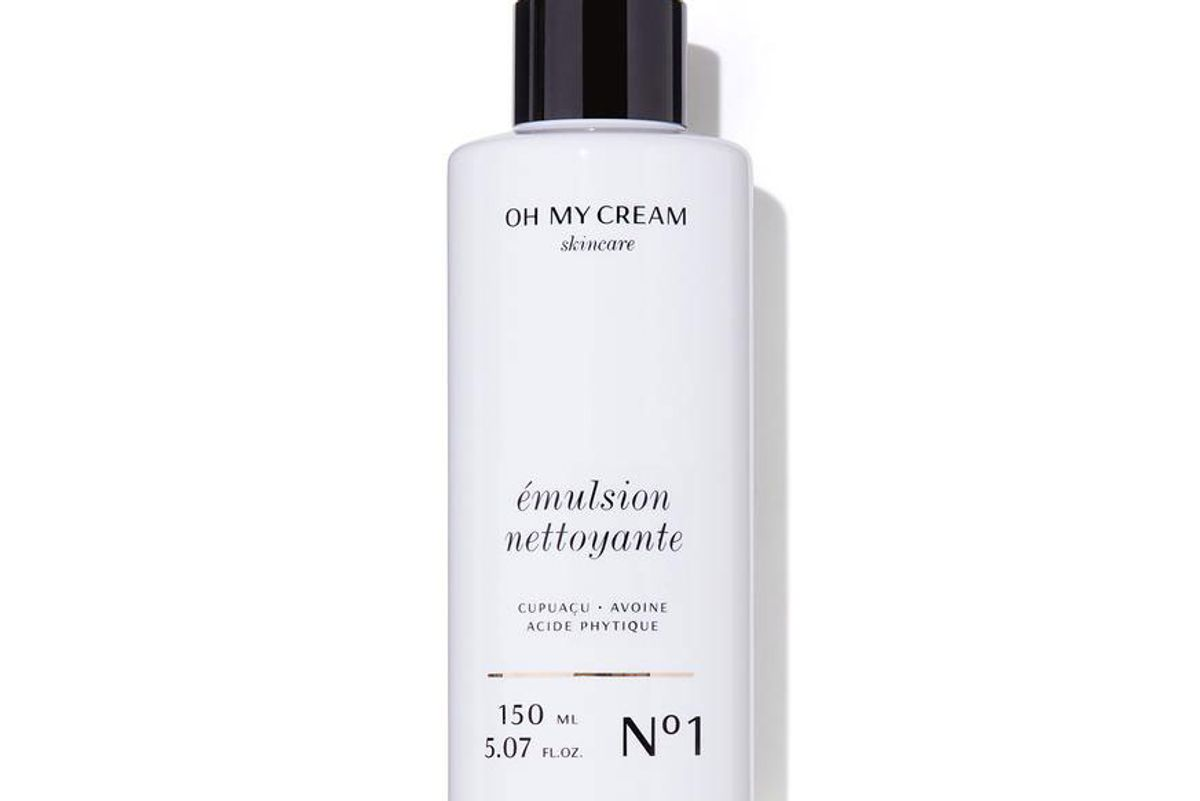 oh my cream skincare facial cleansing emulsion
