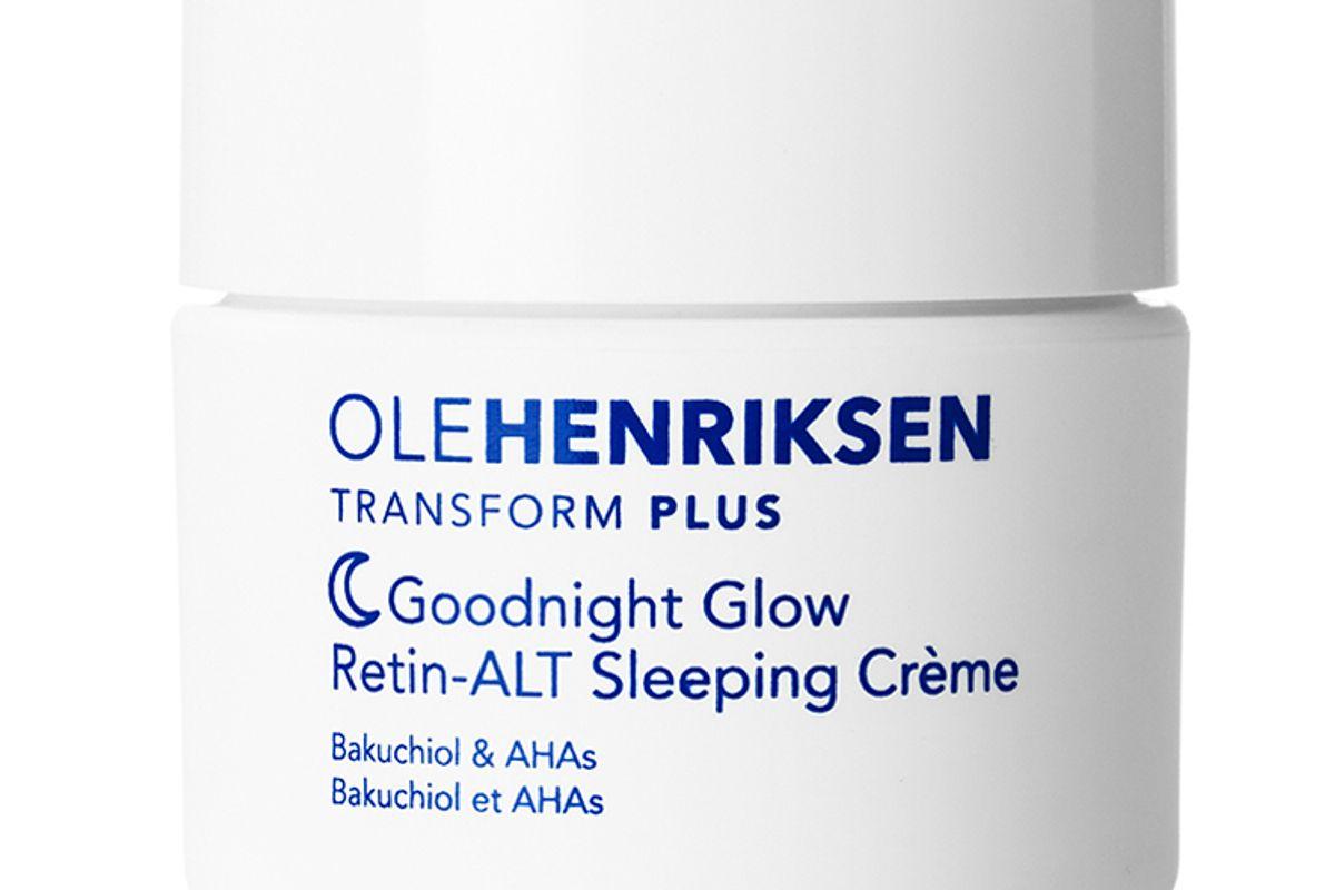 olehenriksen goodnight glow retin alt sleeping creme