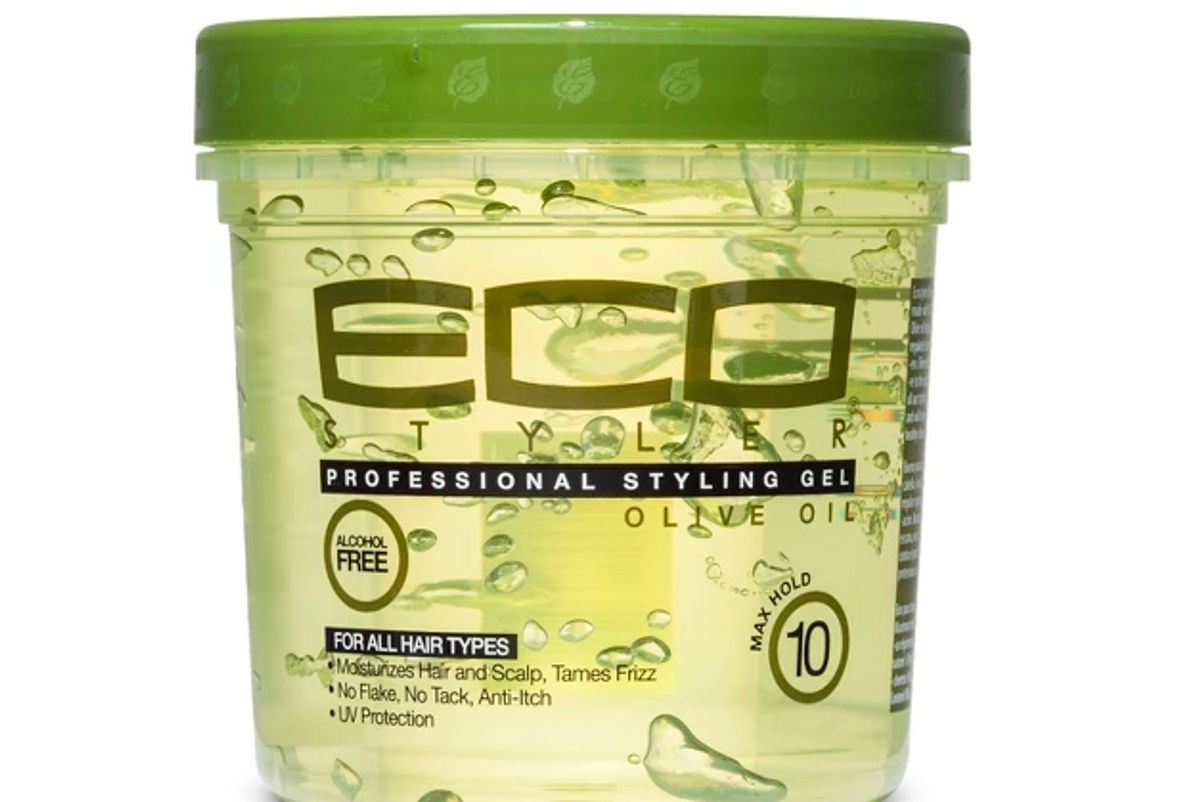 eco style professional styling gel olive
