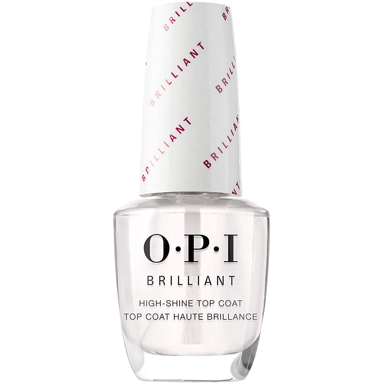 opi nail polish top coat brilliant high shine top coat finish