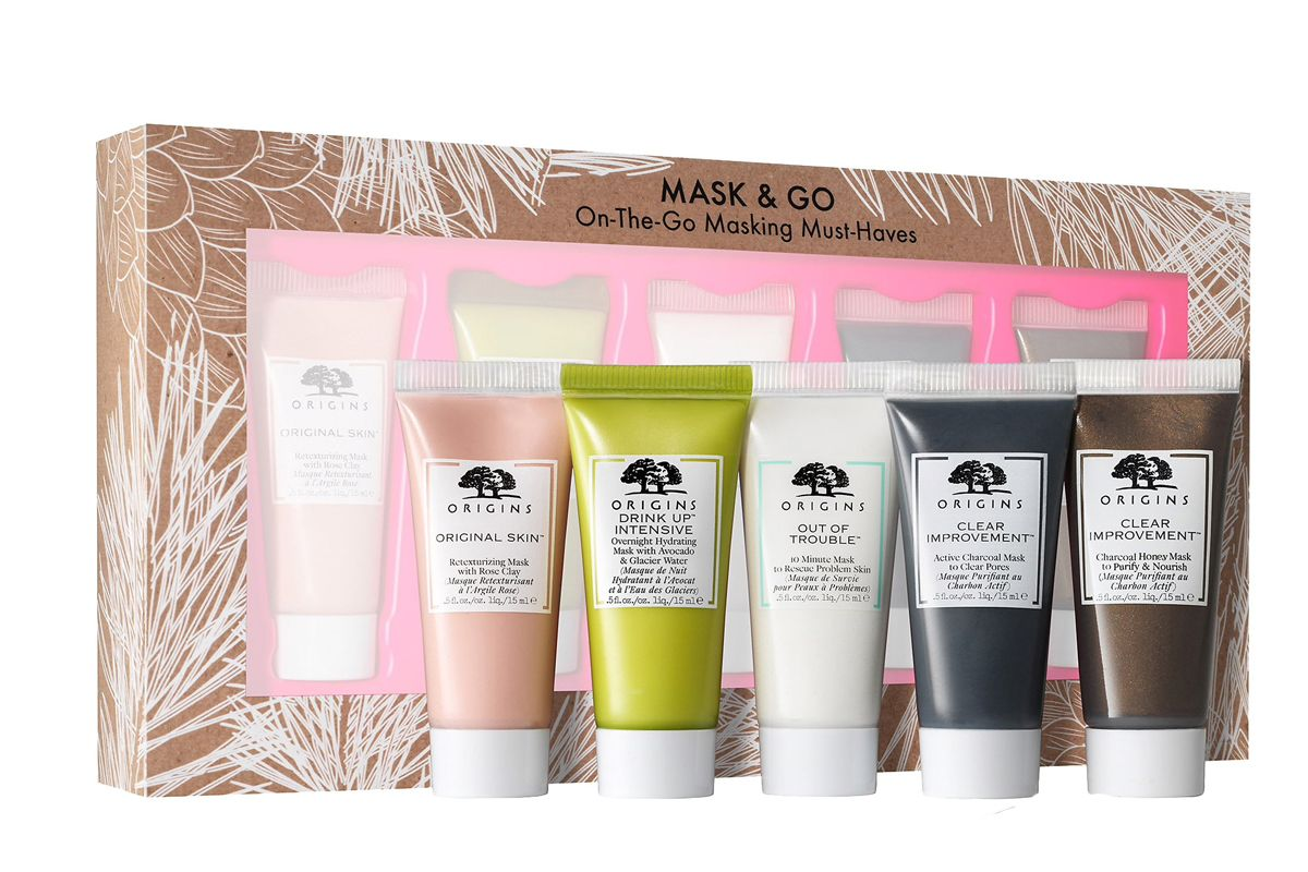 origins mask and go set on the go must haves