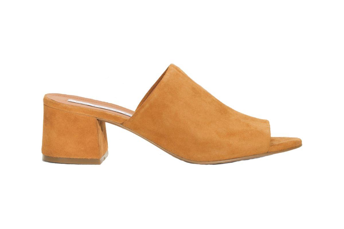 Suede Sandalette Mule