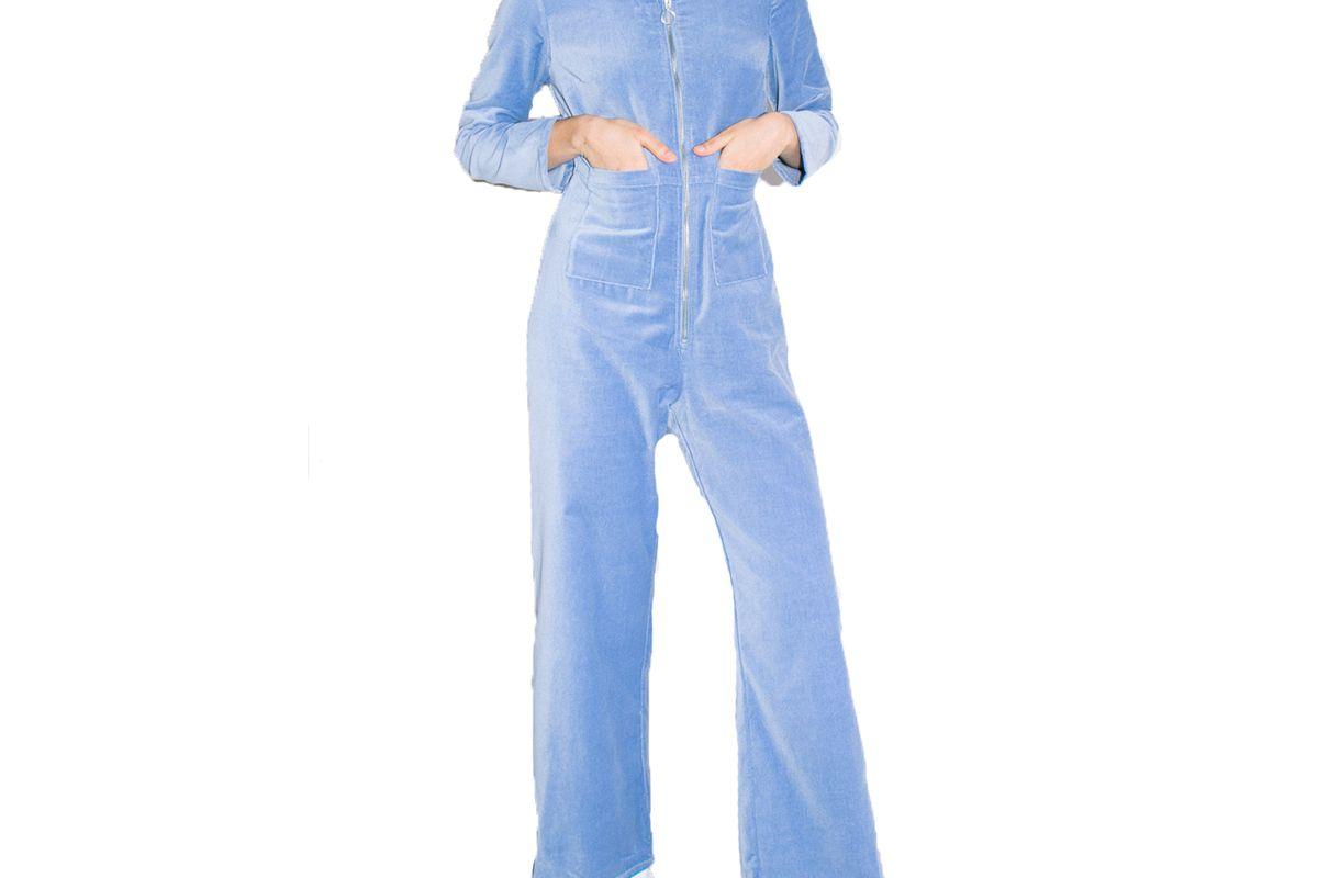 paloma wool powder blue jumpsuit