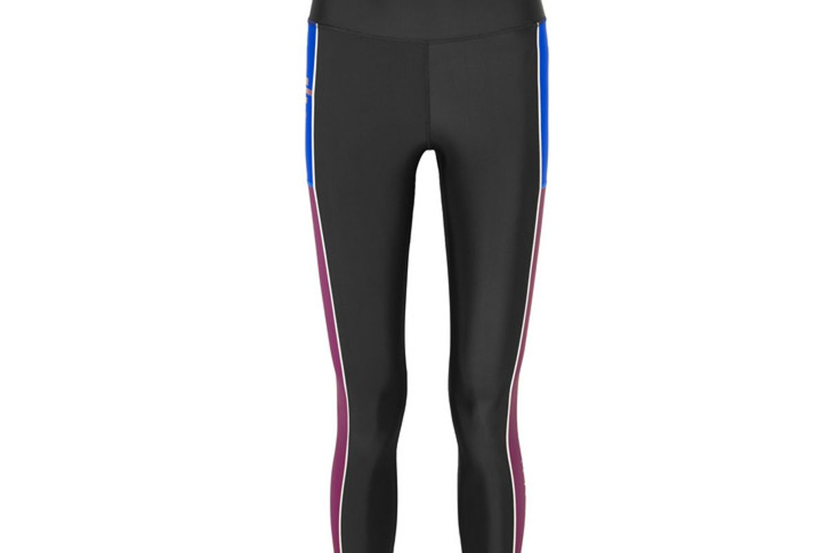 pe nation without limits striped stretch leggings