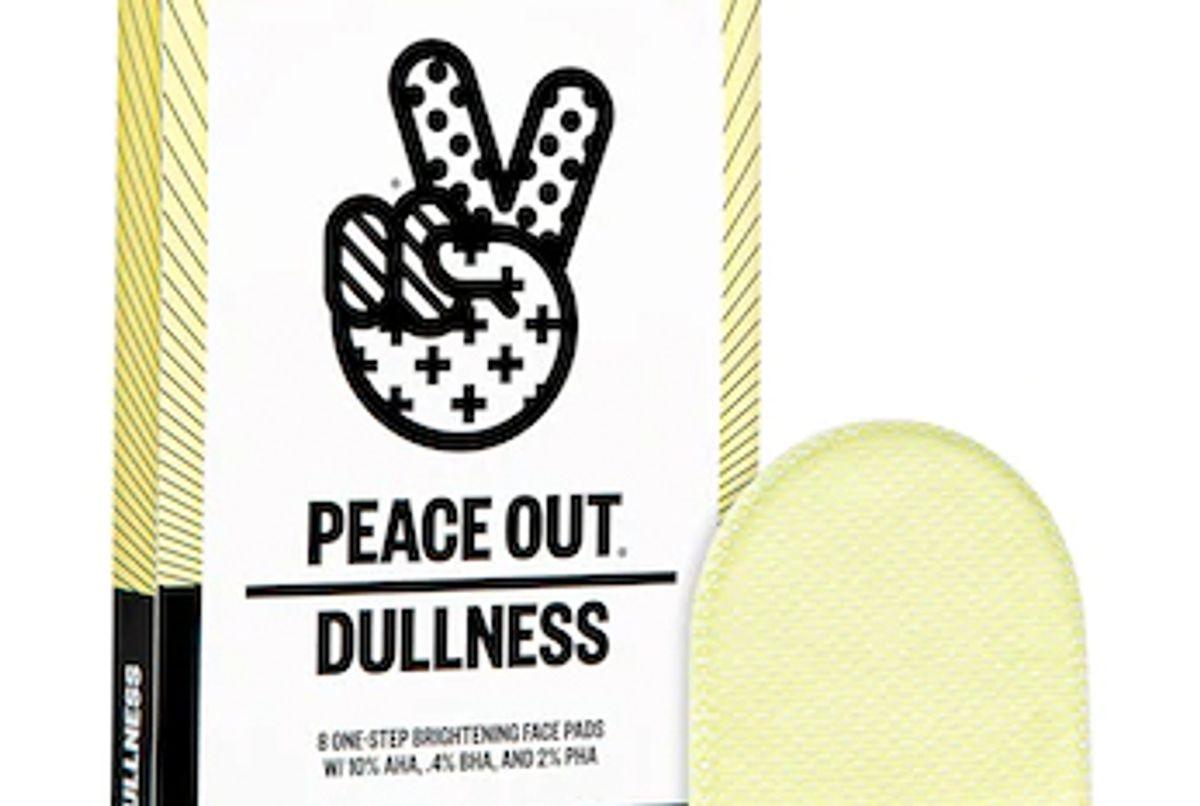 peace out 1 step aha bha pha brightening peel pads